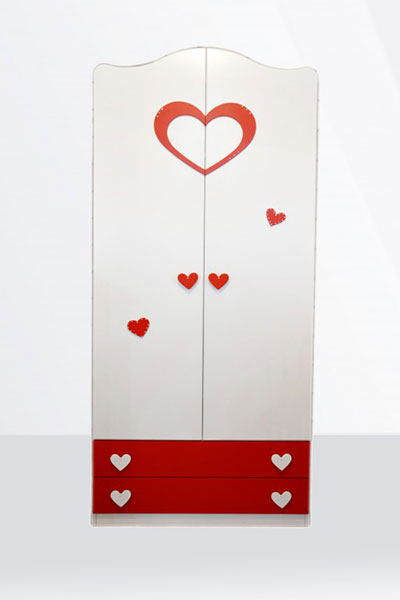 armadio 2 ante amore